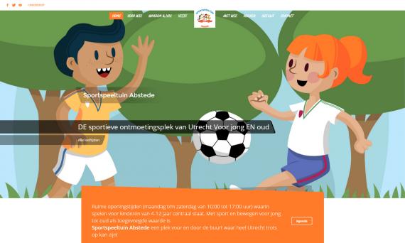 Homepage sportspeeltuin